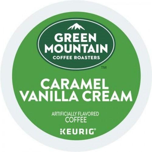 Green Mountain Coffee Light Roast Coffee Caramel Vanilla Cream -...