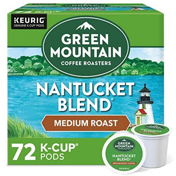 Green Mountain Coffee Roasters Nantucket Blend, Single-Serve Keu...