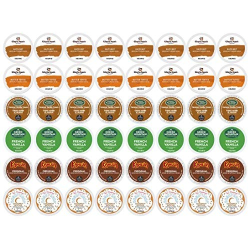 Keurig Flavored Coffee Collection 48-ct. K-Cups Pods Variety Pac...
