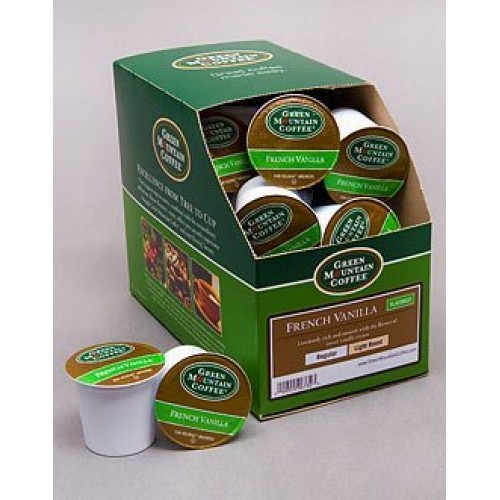 Green Mountain Coffee Roasters French Vanilla single serve capsu...