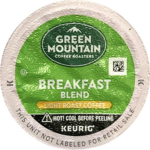 Green Mountain Coffee Breakfast Blend K-Cup Packs, 80 Count Pac...