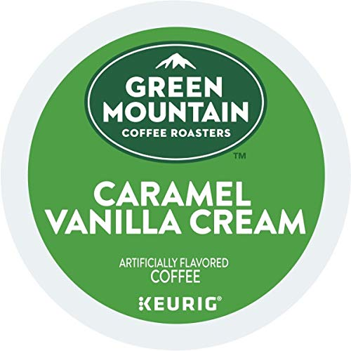 Green Mountain Coffee Caramel Vanilla Cream, K-Cup Portion Pack ...