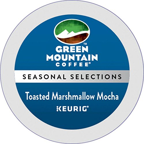 Green Mountain Coffee Toasted Marshmallow Mocha K-Cup 48 Count