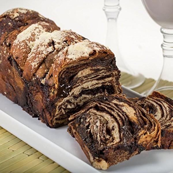 Greens Bakery 24 oz Kosher Babka, 3 Pack - 1 Chocolate Babka,...