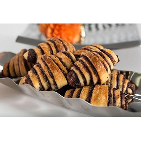 Greens Bakery Chocolate Rugelach Kosher Pastry - 14 oz.