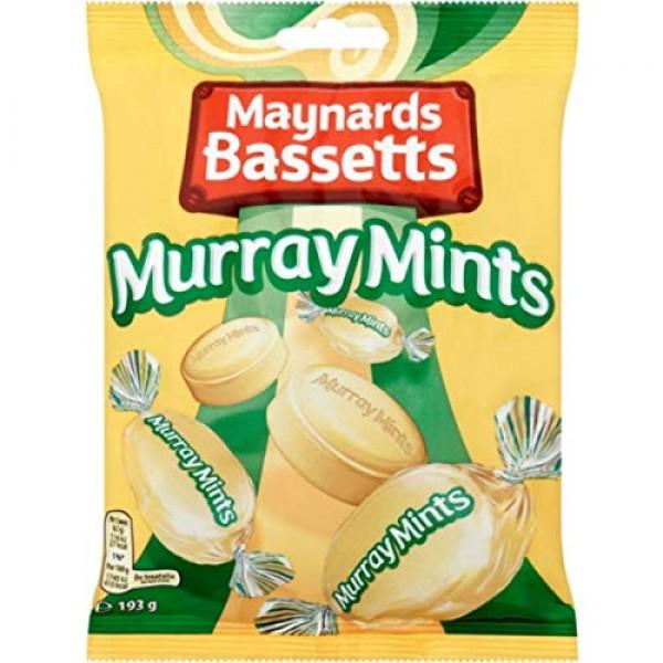 Bassetts Murray Mints Bag 200 g Pack of 6