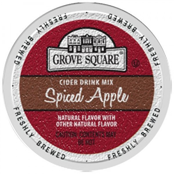 Grove Square Cider Single Serve Cups, Spiced Apple, 24 Count Pa...