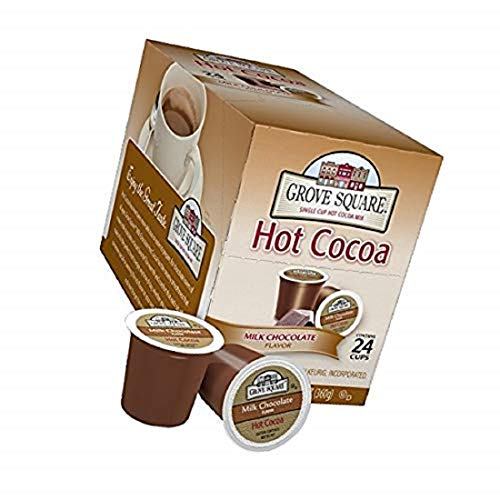 Grove Square Hot Cocoa, Milk Chocolate,12.7 Ounce, 24 Count, New...