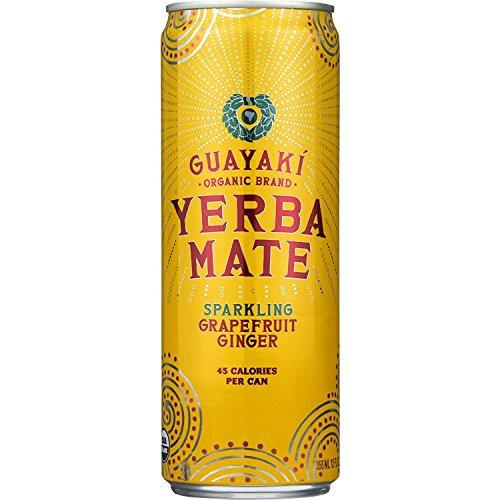 Guayaki Yerbamate - Organic - Sparkling - Grapefruit Ginger - 12...