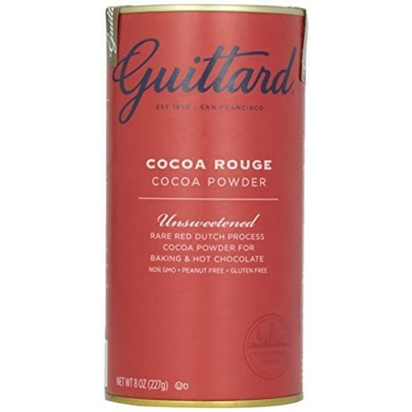 E Guittard Cocoa Powder, Unsweetened Rouge Red Dutch Process Coc...