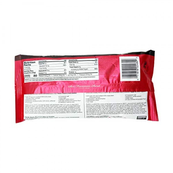 Guittard Baking Chips, 63% Extra Dark Chocolate, 11.5 oz