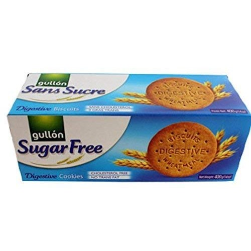 Gullon Sugar Free Digestive Cookie 400g Pack of 4