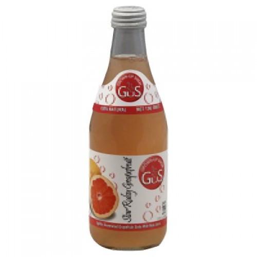 GuS Soda Star Ruby Grapefruit 12oz. - 24-bottle case