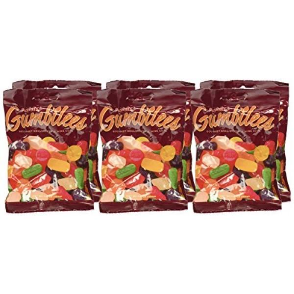 Gumbilees English Style Original Gustafs Wine Gums 5.2 oz Bag...