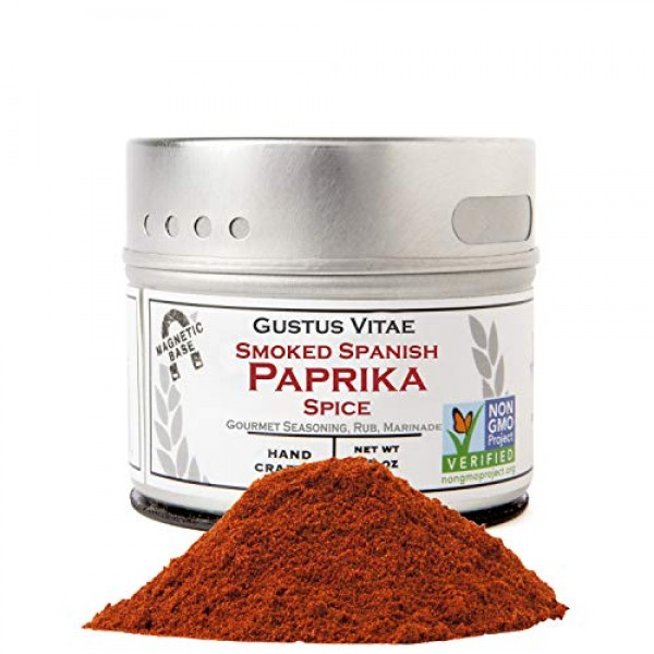 Smoked Spanish Paprika - Non GMO Project Verified - Packed In Ma...