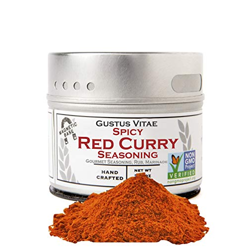Gustus Vitae - Spicy Red Curry Seasoning - Non GMO Verified - Ma...