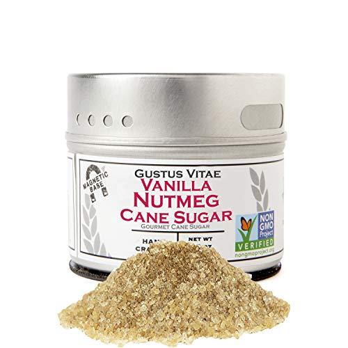 Vanilla Nutmeg Cane Sugar