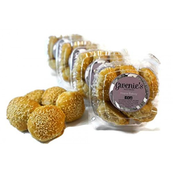 Gwenies Pastries, Hopia Baboy Filipino Pastry 4 Pack/5 pieces ...