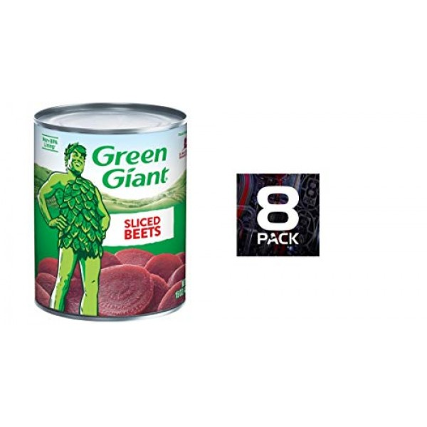 Green giant sliced beets 15 ozpack of 8