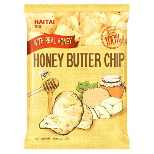 1 Pc Honey Butter Chip New Korea Potato Snack 60g X 1