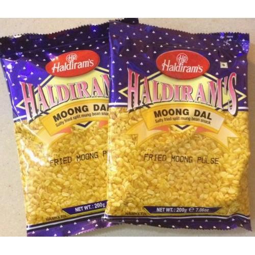 Haldirams Moong Dal - Salty Fried Split Moong Bean Snack / 200g...