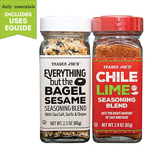 Trader Joes Everything But the Bagel and Chile Lime Seasonings ...