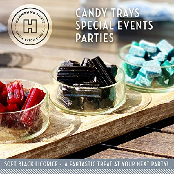 Hammond's Candies 2 Packs of Black Licorice- Australian Style So...