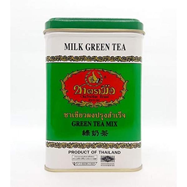 Hand Thai Milk Green Tea Green Lebal 2g. Pack 50 Number One Bran...