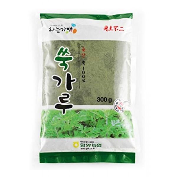 Korean Herbal Powder mugwort powder for cooking spice 300gram 함...