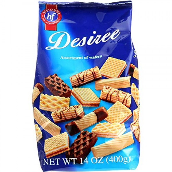 Hans Freitag Desiree Wafers 14 Oz Pack of 2