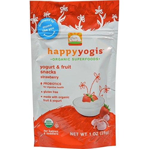 Happy Baby Happy Yogis Organic Superfoods Yogurt and Fruit Snack...