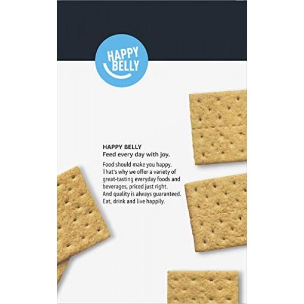 Amazon Brand - Happy Belly Honey Graham Crackers, 28.8 oz Previ...