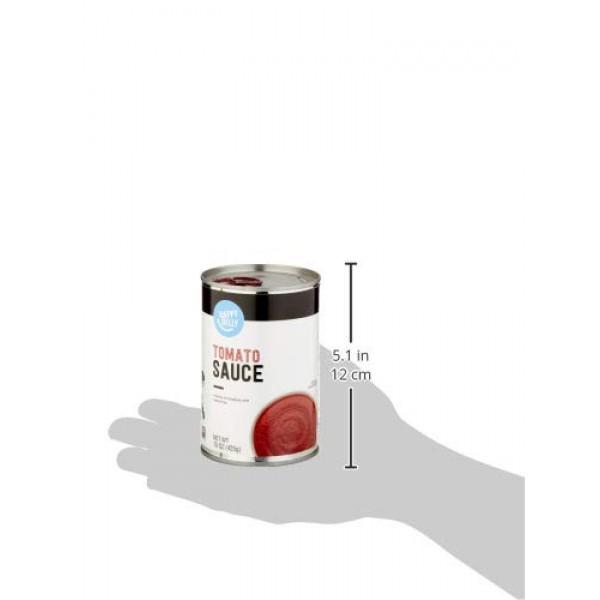 Amazon Brand- Happy Belly Tomato Sauce, 15 Ounce