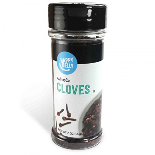 Amazon Brand - Happy Belly Cloves, Whole, 2 Ounces