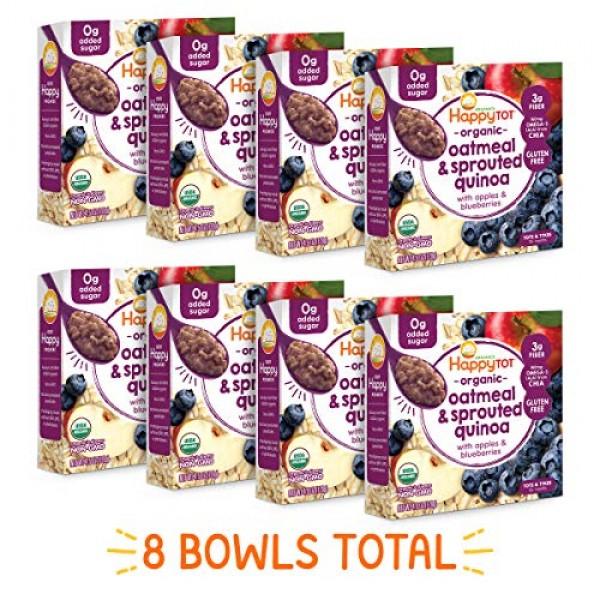 Happy Family Tot Super Morning Oatmeal Bowls Organic Toddler Foo...