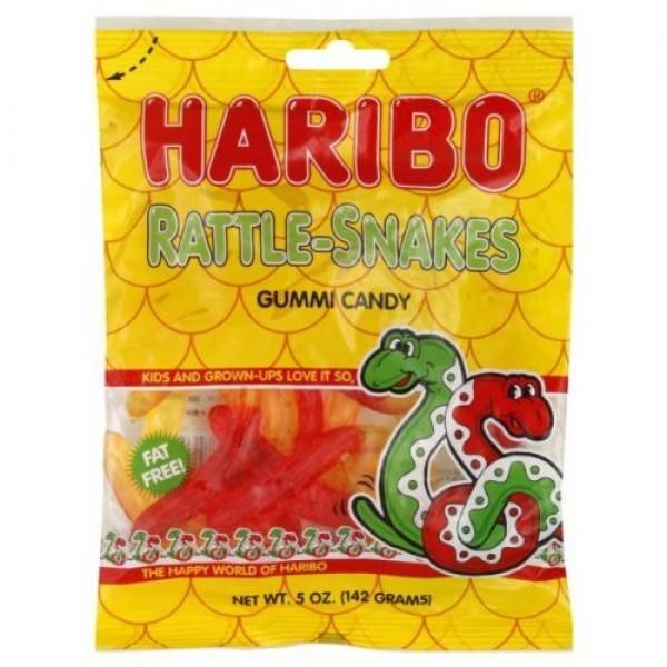 Haribo Gummies - Rattlesnakes - 5 oz