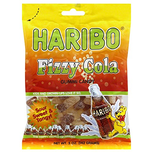 Haribo Sour Cola Gummi Candy - 5 oz.