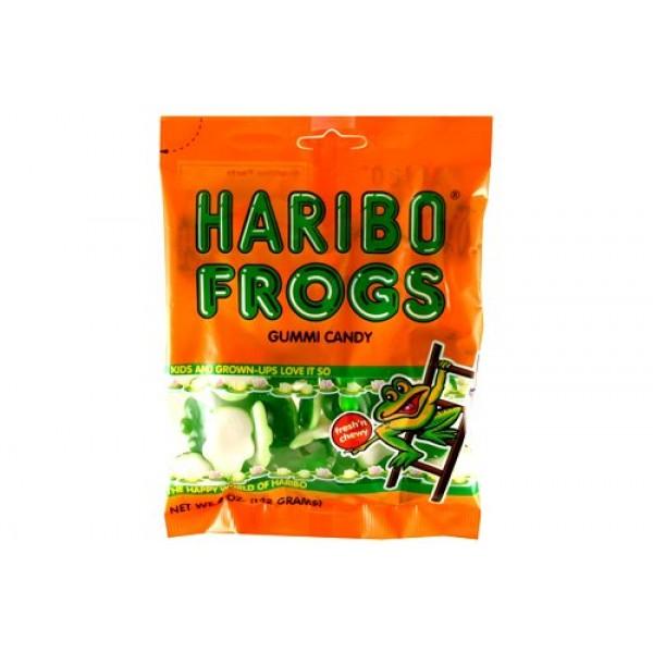 Haribo Gummies - Frogs - 5 oz