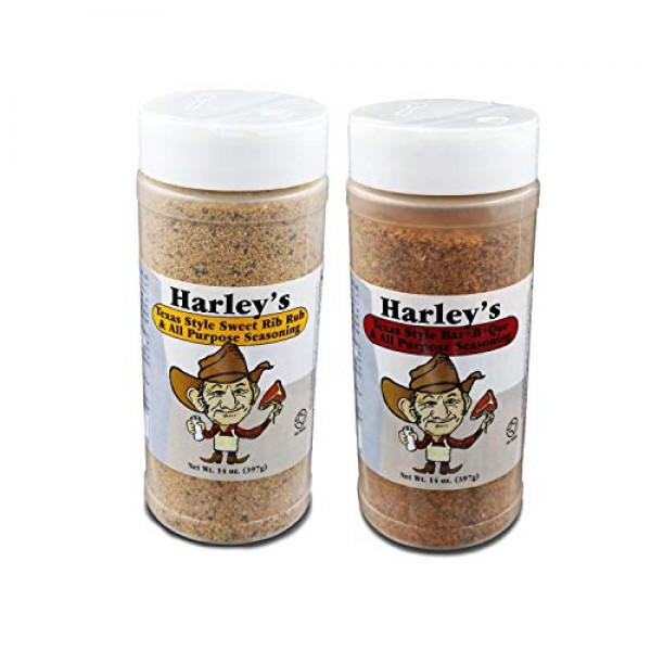 Harleys Texas Style All Purpose Seasoning Gluten-Free Shaker Bot...