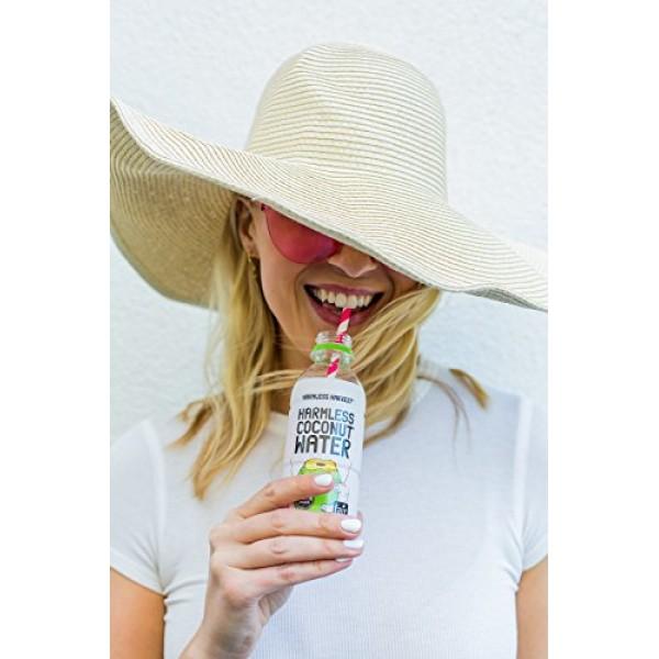 Harmless Harvest Organic Coconut Water, Original 8.75oz Pack of...