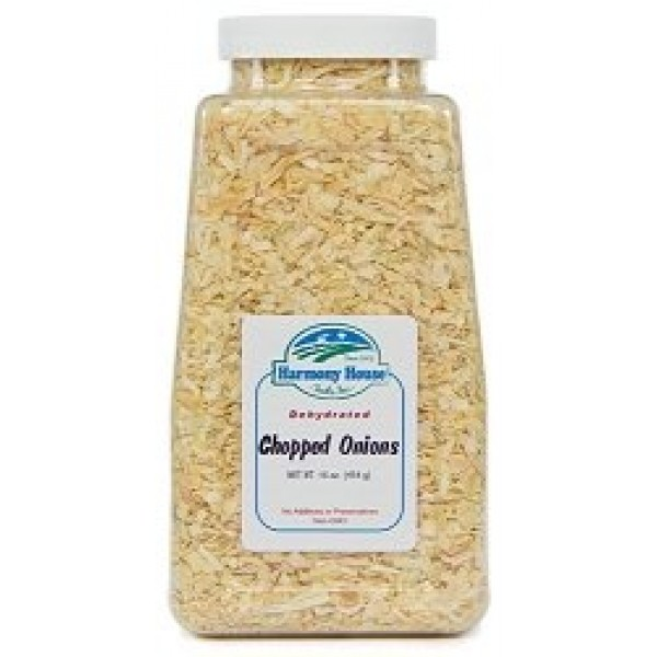 Harmony House Dried Onions, Chopped – Dehydrated Vegetables For ...