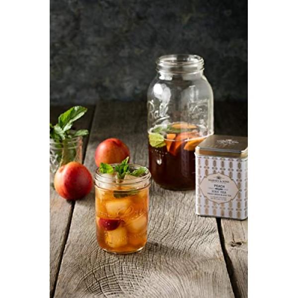 Harney & Sons Black Iced Tea, Organic Plain, 6 Tea Bags