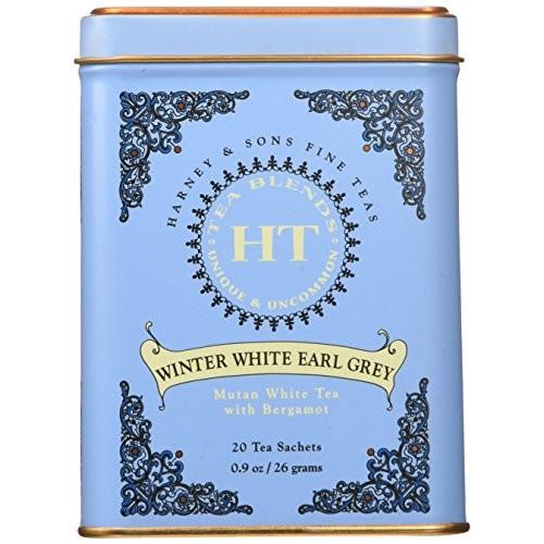 Harney Sons Winter White Earl Grey Tea 20 Tea Sachets 0 9 oz 26 g