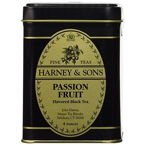 Harney & Sons Passion Fruit Loose Leaf Tea, 4 Ounce