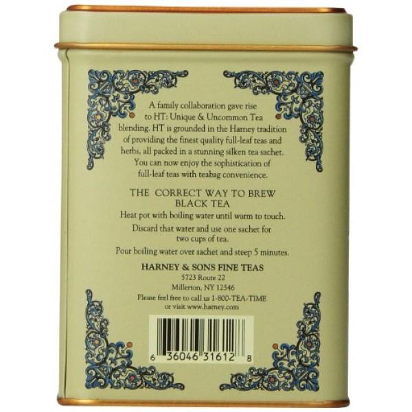 Harney & Sons Vanilla Comoro Tea Tin - Decaffeinated and, Great ...