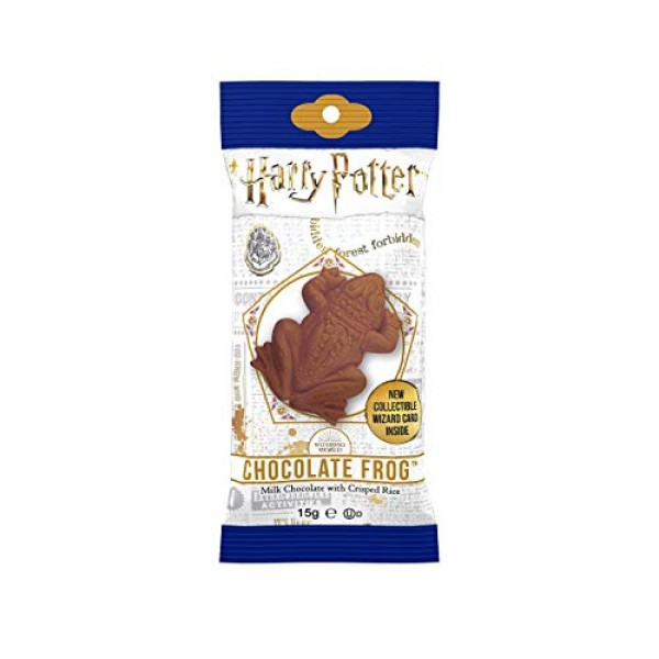 Harry Potter Milk Chocolate Frog with Collectible Wizard Trading...