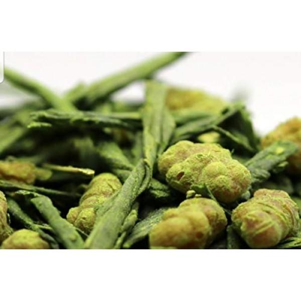 HARU - Japanese Organic Genmaicha Matcha-Iri Loose Leaf Green Te...