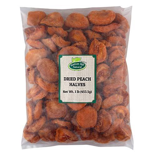 Dried Peach Halves 1lb by Hatton Hill