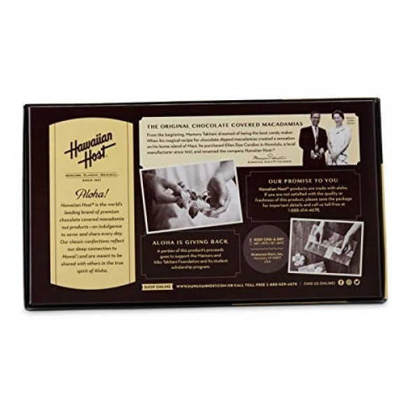 Value 2 Pack of Hawaiian Host Premium Signature Dark Chocolate W...