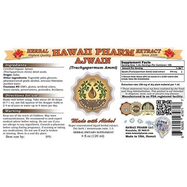 Ajwain Liquid Extract, Organic Ajwain Trachyspermum Ammi Seeds...